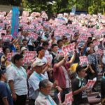 3,200 protesters from all over Japan gathered in Tokyo, in order to protest against a new governments' gloss over policy regarding long-stay psychiatric patients.