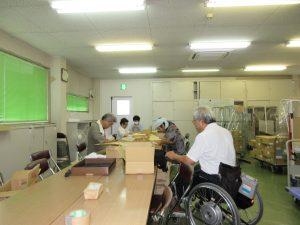 障害者の就労の様子2