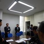 ■ご報告■ 茨城県教育委員の発言問題について、茨城県庁に抗議に行ってきました