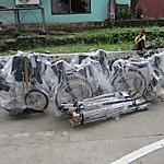 フィリピン台風被災障害者支援 タクロバン福祉機材供与報告