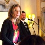 アメリカ大使館でケネディ大使に面会(12月5日世界人権デー)