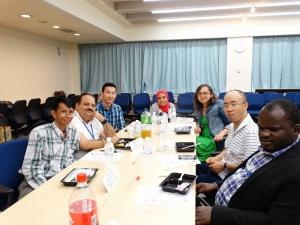 写真3 JICA中部研修との交流会の様子