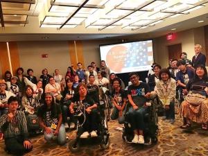 日米ユースサミット参加者で集合写真