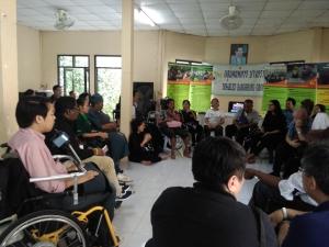 障害者団体を訪問