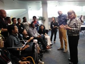 国連アジア太平洋経済社会委員会(ESCAP)訪問