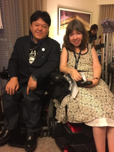 "Mr.Satoshi Sato and Ms.Jully from CIL Reach"" width="