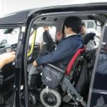 トヨタ自動車が今秋発売するUDタクシーに乗車してきました