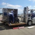 成田空港 ANA(全日空)飛行機への車いす積込み視察報告
