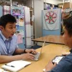 【研修受け入れ報告】<br>韓国城南市障害者人権啓発センターの職員のパク・ユングンさん