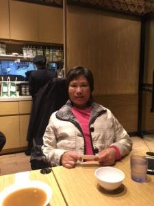 グレース・チャンさん。台湾の障害者運動の中心メンバーのお一人