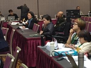 NGOとの対話でグレース・チャンさんも委員にインプット!