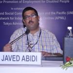 突然の逝去-インドDPIのJaved Abidi氏の死を悼んで