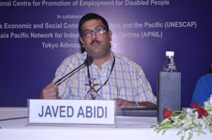 Javed Abidi(ジャビット アビディ)氏