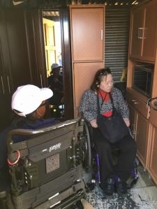 ソウェト自立生活センター視察時の写真