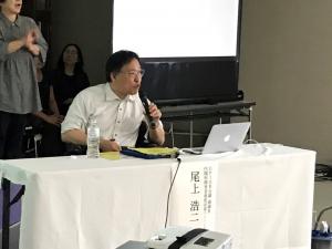 「障害者基本法DPI日本会議試案とは」講師:尾上浩二(DPI日本会議副議長・内閣府障害者制度改革アドバイザー)