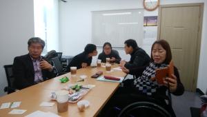 韓国DPIのオフィス訪問