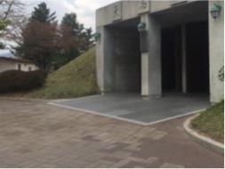 慶州にある天馬塚の入り口
