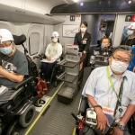 7月12日(日)新幹線車椅子用フリースペース実証実験 参加報告