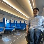 バリアフリー新型新幹線レポート①東海道新幹線「N700S」 <br />窓が見やすいと、こんなに外を見たくなるものだったのか!