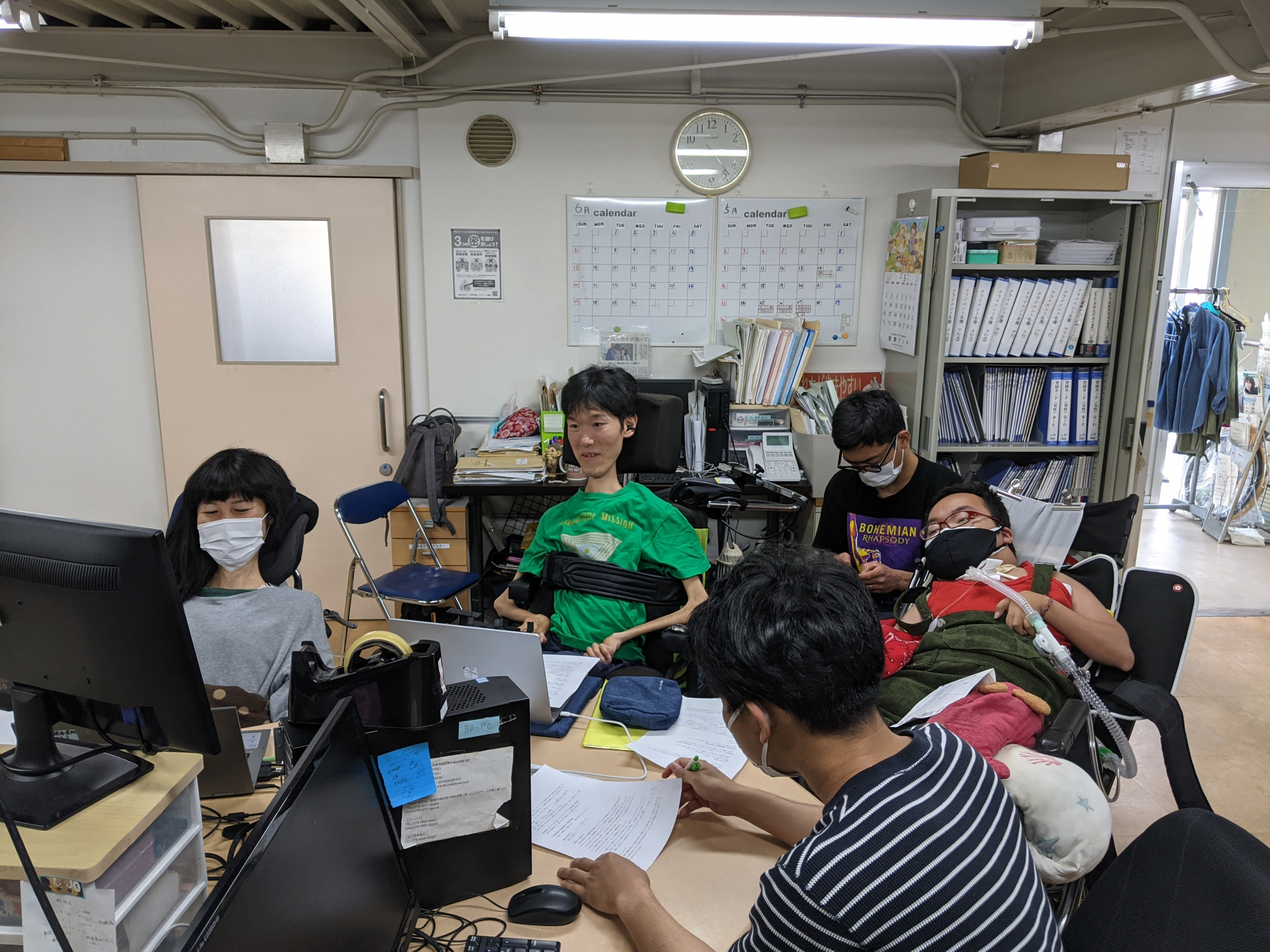 地域移行PV作成チームミーティング風景
