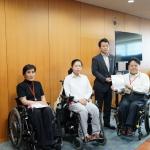 「国立公園のバリアフリー化」について<br/>笹川博義環境副大臣へ要望書を提出しました