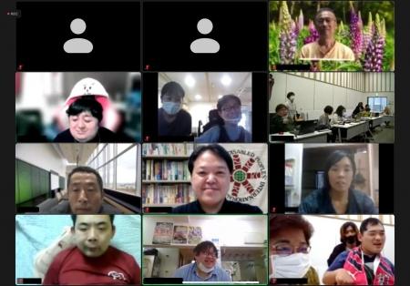 参加者一覧のzoom画面
