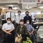 【裁判支援報告】日本盲導犬協会と和解された視覚障害のある女性と弁護士のみなさんが来所されました。