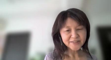 登壇した藤原久美子
